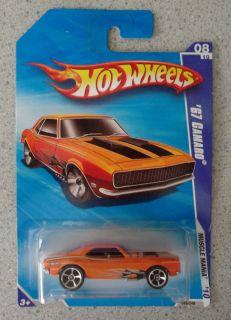 2010 Hot Wheels 67 Chevy Camaro Muscle Mania Orange 86 240 Mint VHTF