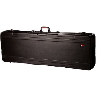 GKPE 76 TSA 76 Key ATA Rated Hardshell Keyboard Case w Wheels OPEN BOX