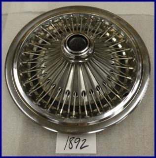 75 76 77 78 Chrysler Dodge Plymouth Spoke 15 Hubcap Hub Cap Nice Used