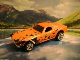 70 Dodge Challenger 2009 Hot Wheels Rebel Rides Series Red