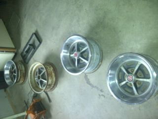 1969 1970 Ford Mustang Wheels 4 Four Clean Nice