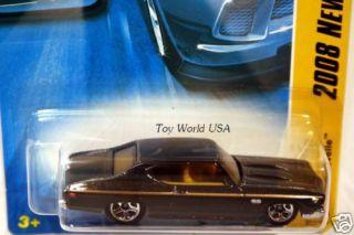 2008 Hot Wheels New Models 17 69 Chevy Chevelle