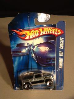 2006 Hot Wheels Hummer H3T Concept Gray 173
