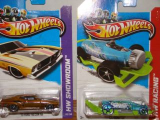 2013 Hot Wheels Super Treasure Hunt 73 Ford Falcon XB with Regular
