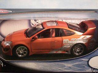 Hot Wheels Diecast Sports Car Acura RSX 1 18 Scale