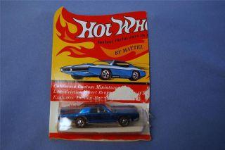 Vintage 1969 HOT WHEELS Redline CONTINENTAL MARK III MINT CAR Unplayed