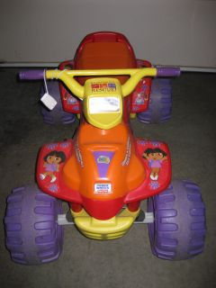 Fisher Price Power Wheels Dora the Explorer Motorized ATV LOCAL PICKUP