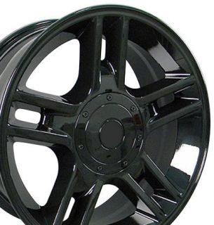 20 Rims Fit Ford F150 Black Harley Wheels 20x9 Set