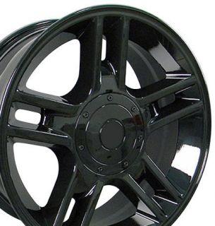 20 Rims Fit Ford F150 Black Harley Wheels 20x9 Set