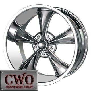 18 Chrome Ridler 695 Wheels Rims 5x4 75 5 Lug Camaro GTO s 10 Blazer
