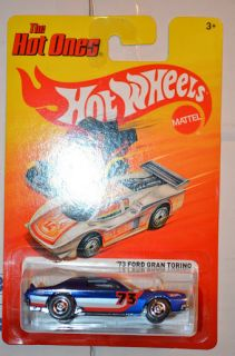 73 Ford Gran Torino Hot Ones P Case Hot Wheels 2012