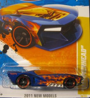 Hot Wheels 2012 New Models Hammerhead on Dale Earnhardt Jr Card T
