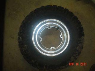Honda ATC 200x 200 x Front Wheel Rim Tire 84 250R 83 85 ATC200X