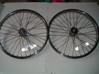 80s Mongoose BMX Bike 20 x 1 75 CMC Wheels Chrome Finish