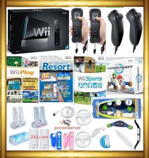Wii Console HD Mario Kart Wheels Sports Resort 045496880491