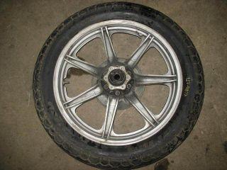 Rear Wheel Rim Tire Hub 1979 Yamaha XS750 XS 750 79