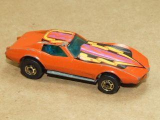 1975 Hot Wheels Car Corvette Stingray Needs TLC