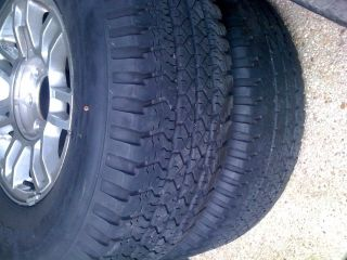 Goodyear Wrangler RTS Tires and Rims 265 75 16 4 Tires Can SHIP