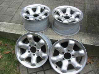 15x8 American Eagle Wheels Polished 5x4 75 GM Vintage Mags Model 146