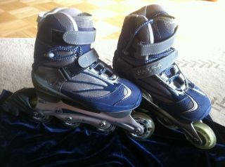 Womens Ultra Wheels Avispa Inline Roller Skates Blades Size 6 78A 76mm