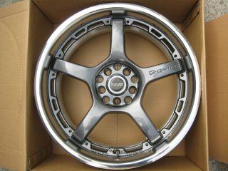 18 JDM Rays G Games Rims wheels 5x114 honda acura volk racing 77w 35mm