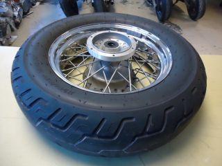 Star Custom XVS1100 Rear Back Wheel Rim w Dunlop 170 80 15 Tire