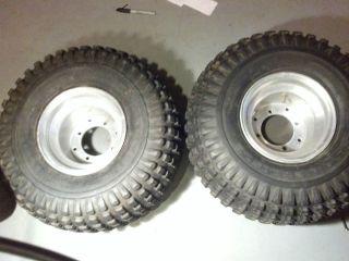 ITP REAR WHEELS And Carlisle Tires 4x110 fits Honda 400ex 450r 300ex