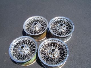 Jaguar Dayton Wire Wheels