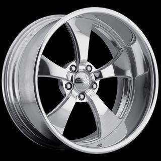 New Billet Forged 18x15 SW5 Streeter Showwheels Ford Dodge Chevy Rods