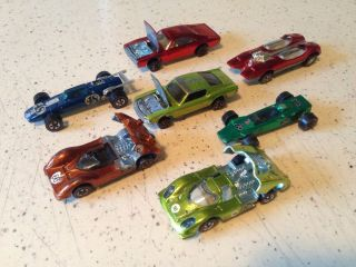 Hot Wheels Red Lines Lot
