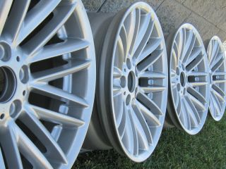 02 08 BMW E65 SPORT Style 94 WHEELS RIM 745 750 760 FACTORY OEM SILVER