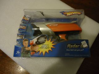 Hot Wheels Real Speed 100 MPH Radar Gun NMIB