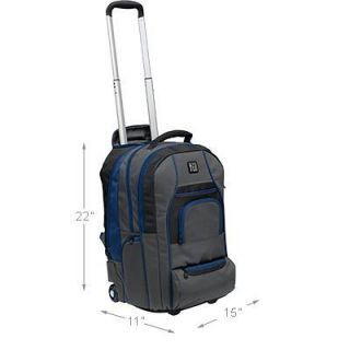 Backpack School Travel Bag Back Pack Wheels Carry On Airport Case