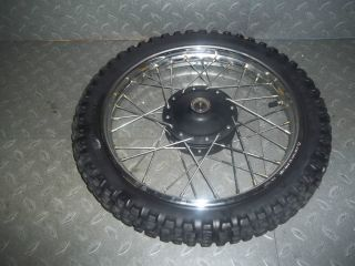 2006 Yamaha PW80 PW 80 Front Wheel Rim Tire