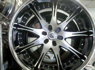 24 Lexani LX 9 Wheel Tire Tis MOZ asanti Dub MHT Forgiato Giovanna 22