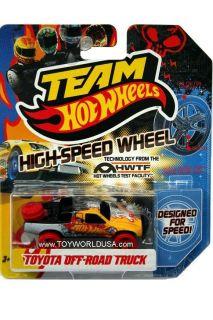2011 Team Hot Wheels High Speed Wheel Toyota Off Road Truck