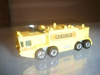 1979 Hot Wheels Airport Rescue Fire Truck