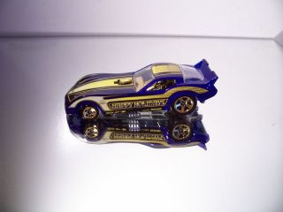 Hot Wheels 77 1977 Corvette Funny Car 2010 Holiday Hot Rods Loose