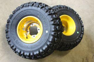 YFZ450 Warrior YFZ 450 Rear Carlisle Trail Pro Tires Rims 83