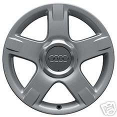 Audi Allroad Quattro Wheel Rim Grey Metallic Center Cap 4Z7 601 165 A