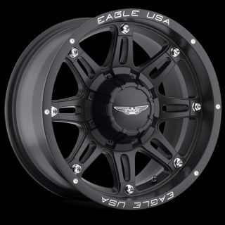 CPP American Eagle Style 027 Wheels Rims 20x9 8x170mm Matte Black
