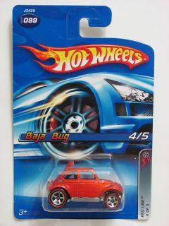 Hot Wheels 2006 Baja Bug Redline 4 of 5 Orange