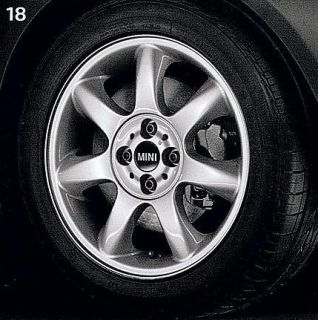 Mini Cooper 16 R94 Silver Bridge Spoke Rim Wheel