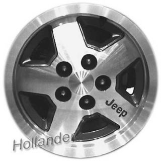 87 90 91 92 93 94 95 Jeep Wrangler Wheel 15x7 Alum