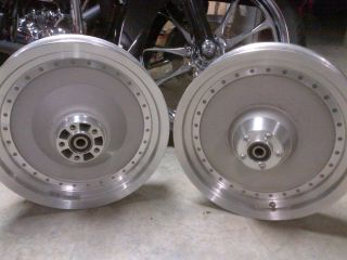 Touring Softail Fatboy Dyna Sportster 86 08 Front Rear Wheels