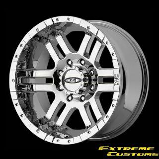 17 x9 Moto Metal MO951 Chrome 5 6 8 Lug Wheels Rims Free Lugs