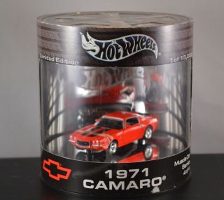 HOT WHEELS 1971 CAMARO MUSCLE CAR SERIES 1 OF 15000 LIMITED EDITION