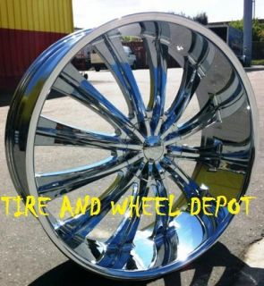 28 INCH B15 RIMS AND TIRES EXPEDITION SILVERADO YUKON DENALI ESCALADE
