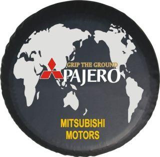 30 31Misubishi Montero 87 06 Spare Wheel Tire Soft Cover w Pajero