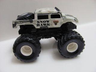 Hot Wheels Monster Jam Snow Hawk Truck Loose